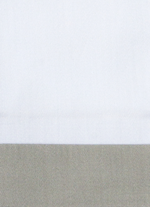Образец ткани для пошива постельного белья - модель Canonica - цвет Dolomia/жемчуг- египетский хлопок 100%