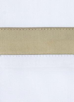 Образец ткани для пошива постельного белья - модель San Antonio - цвет Sable/песок - египетский хлопок 100%