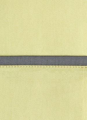 Образец ткани для пошива постельного белья - модель Andrea - цвет Lime- египетский хлопок 100%