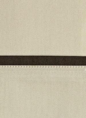Образец ткани для пошива постельного белья - модель Andrea - цвет Sable - египетский хлопок 100%