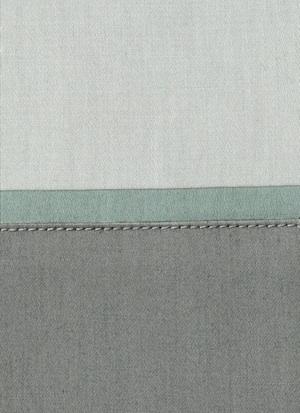 Образец ткани для пошива постельного белья - модель Clemente - цвет Estadio - египетский хлопок 100%