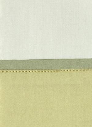 Образец ткани для пошива постельного белья - модель Clemente - цвет Lime - египетский хлопок 100%