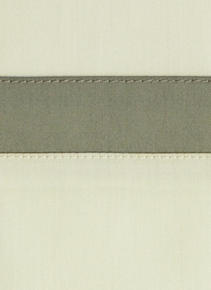 Образец ткани для пошива постельного белья - модель Cristina - цвет Avorio - египетский хлопок 100%