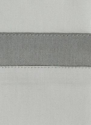 Образец ткани для пошива постельного белья - модель Cristina - цвет Ostrica - египетский хлопок 100%