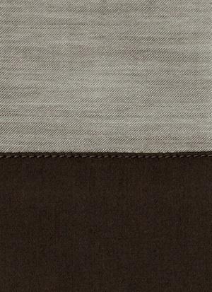 Образец ткани для пошива постельного белья - модель Marco цвет Chocolat - египетский хлопок 100%