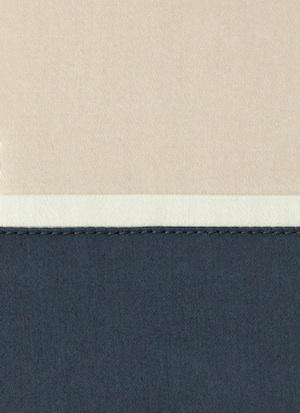 Образец ткани для пошива постельного белья - модель Murano - цвет Blu notte - египетский хлопок 100%