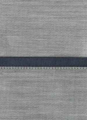 Образец ткани для пошива постельного белья - модель Polo цвет Blu notte - египетский хлопок 100%