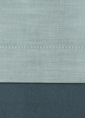 Образец ткани для пошива постельного белья - модель Samuele цвет Sea - египетский хлопок 100%