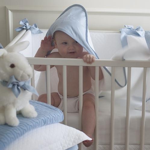 Детский махровый банный уголок Perla Blu - fioridivenezia.ru